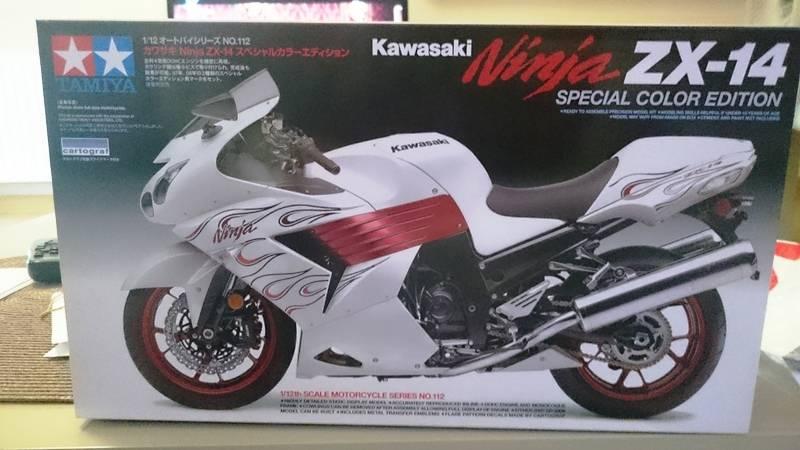 Kawasaki Nija ZX-14 SPECIAL COLOR EDITION 1/12 TAMIYA 2015-05-18%2020.54.04