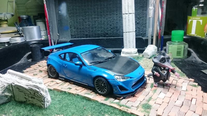 Toyota gt 86 y toyota gt 86 Rocket Bunny  Aoshima  1/24 - Página 5 2016-07-30%2016.49.46