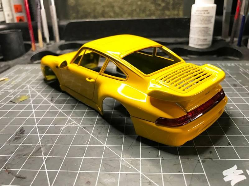 Porsche 911 Turbo Italeri 1/24 2017-01-20%2014.09.03