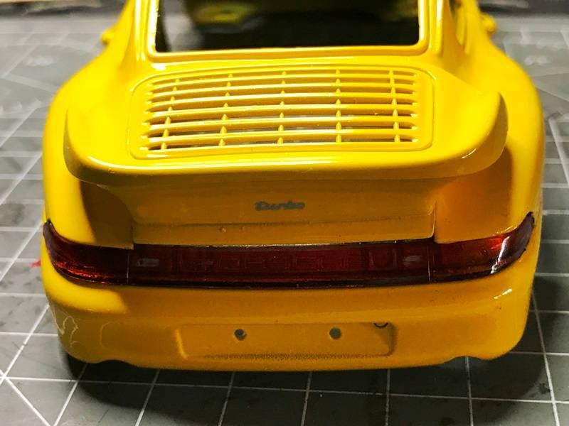 Porsche 911 Turbo Italeri 1/24 2017-01-20%2014.09.17