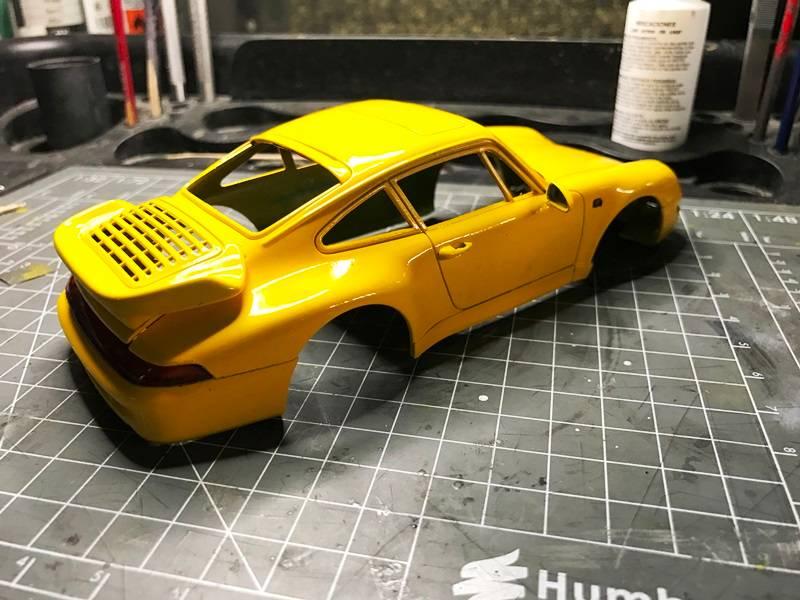 Porsche 911 Turbo Italeri 1/24 2017-01-20%2014.09.23