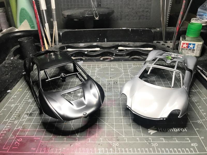 BMW i8 contra Porsche 918 Spyder REVELL 1/24 2017-05-23%2001.36.42