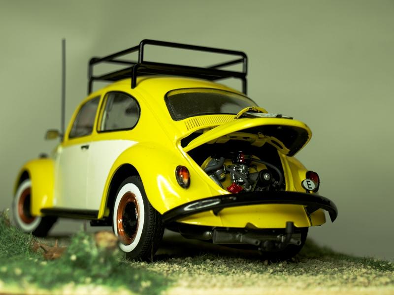 VW Beetle Limousine 1968 Revell 1/24 (Noviembre 2016) _C034831