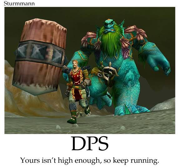 Humor Wow... DPS