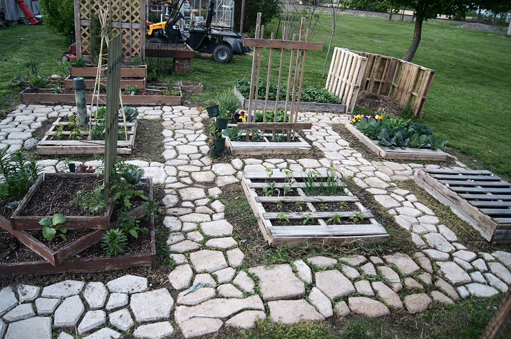 What would you say if I told you how to make a raised  bed garden at $0.00 cost Dsc07692_zpse9d26b33