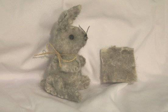 Wool bunny made from English Angora Wool Woolbunny2_zpseb61c7a3