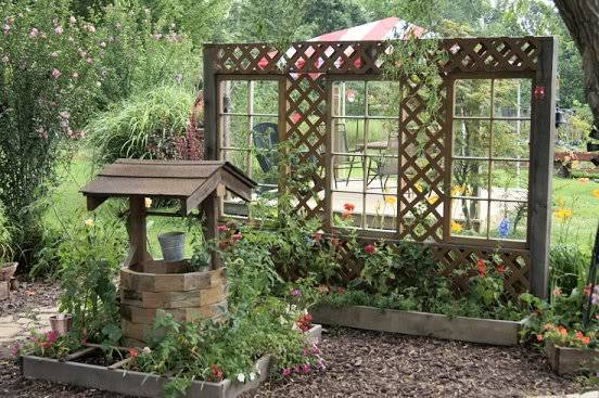 Trellis with a view 7-28-2011