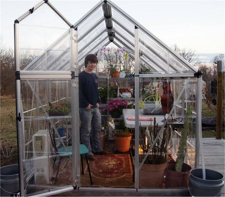 New for 2012...a small greenhouse 1-1