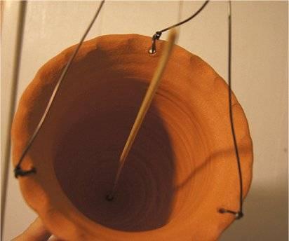 medieval watering pot Dripperinside