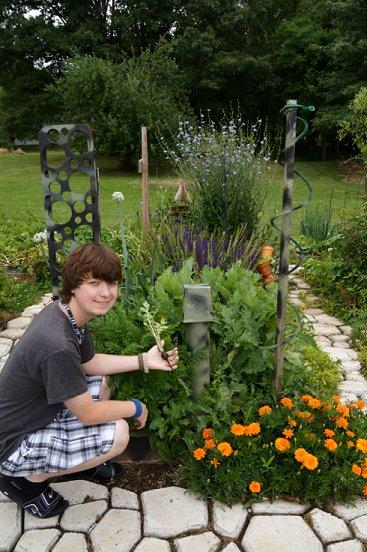 Rabbit manure, red wiggler worms & your garden Sfg5-29-12