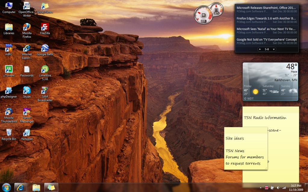 Post Your Desktop Desktop