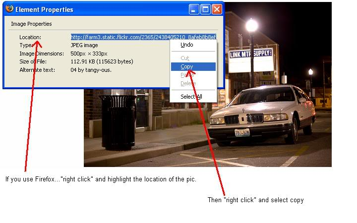 READ THIS FIRST!!! How to post pics (Now with pics) Firefox