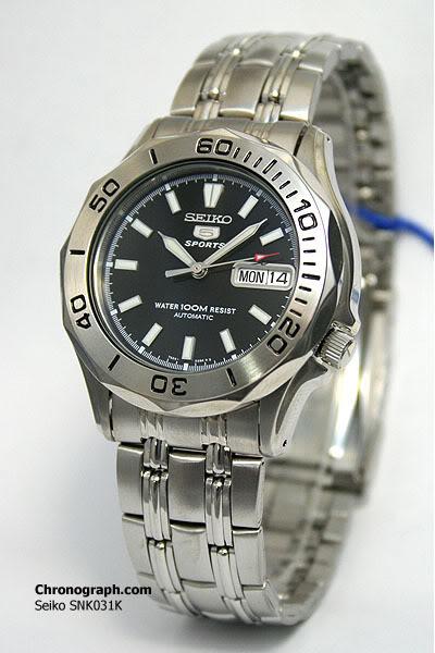 montre de baroud...seiko 5 sport  ou diver 200 SNK031K