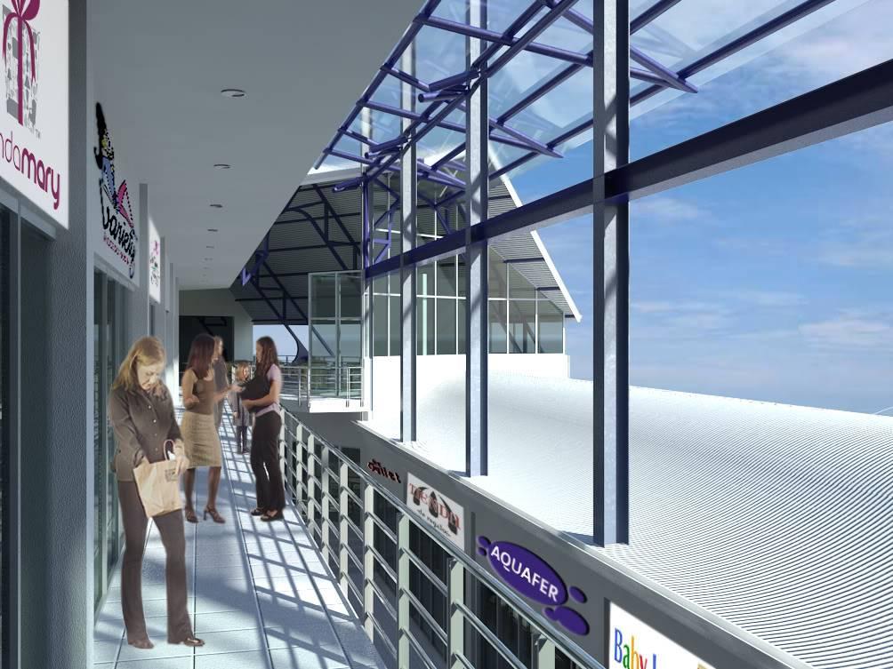 Centro Comercial PasilloNivel4