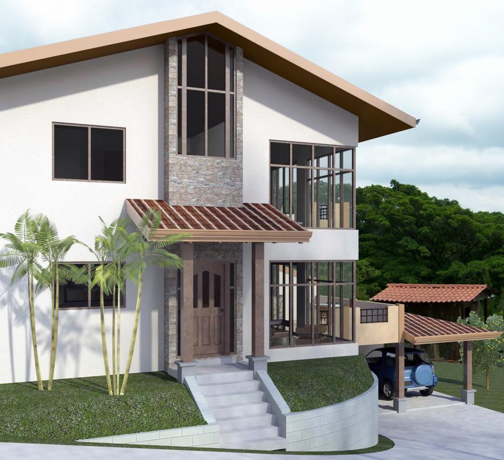 Casa Santa Barbara PerspectivaFrontalcopy