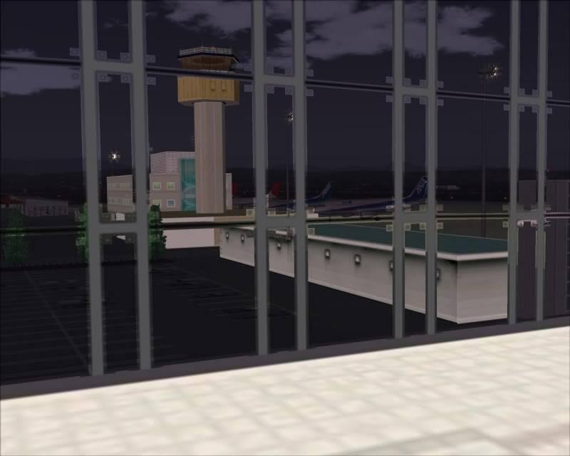 FS9 - SENDAI - AOMORI  By Tour JAPÂO,um pouco do aeroporto e decolagem.... -2008-dec-18-004