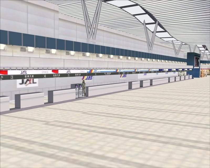 FS9 - SENDAI - AOMORI  By Tour JAPÂO,um pouco do aeroporto e decolagem.... -2008-dec-18-005