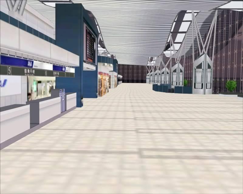 FS9 - SENDAI - AOMORI  By Tour JAPÂO,um pouco do aeroporto e decolagem.... -2008-dec-18-006
