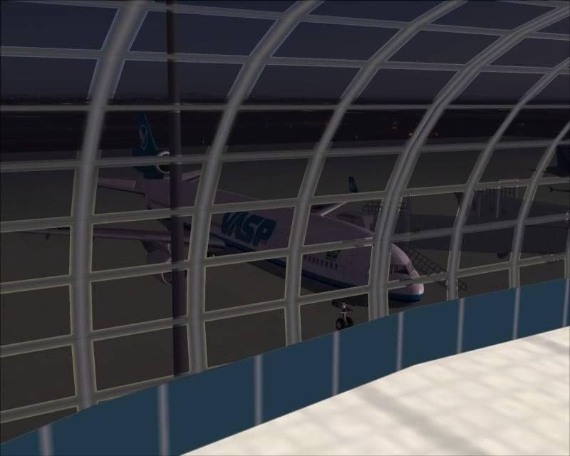 FS9 - SENDAI - AOMORI  By Tour JAPÂO,um pouco do aeroporto e decolagem.... -2008-dec-18-009
