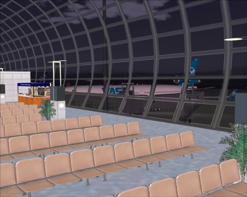 FS9 - SENDAI - AOMORI  By Tour JAPÂO,um pouco do aeroporto e decolagem.... -2008-dec-18-011