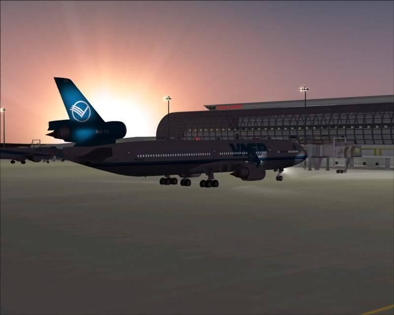 FS9 - SENDAI - AOMORI  By Tour JAPÂO,um pouco do aeroporto e decolagem.... -2008-dec-18-013