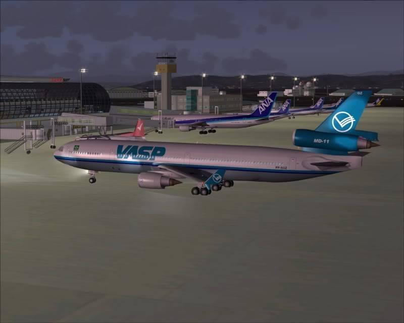 FS9 - SENDAI - AOMORI  By Tour JAPÂO,um pouco do aeroporto e decolagem.... -2008-dec-18-014