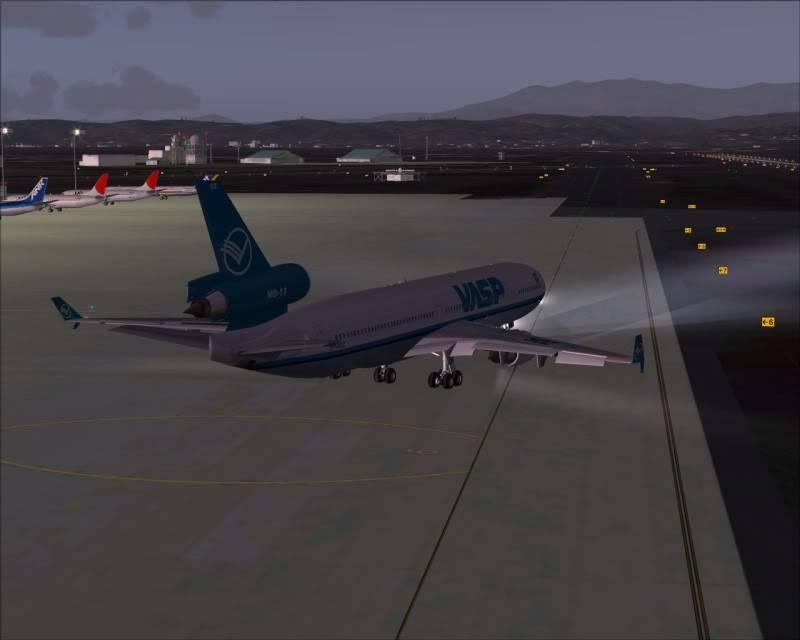 FS9 - SENDAI - AOMORI  By Tour JAPÂO,um pouco do aeroporto e decolagem.... -2008-dec-18-017