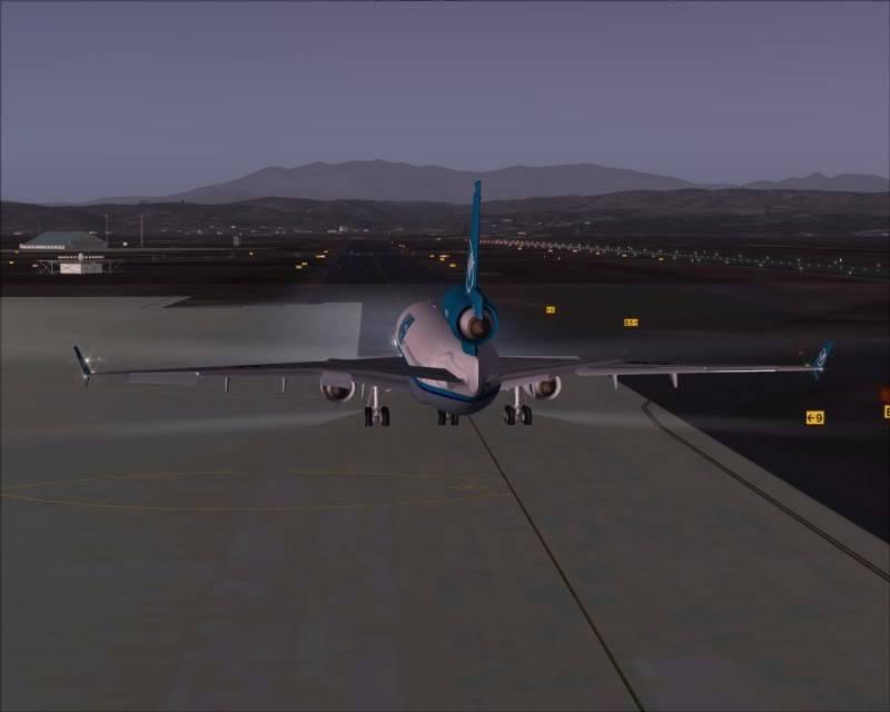 FS9 - SENDAI - AOMORI  By Tour JAPÂO,um pouco do aeroporto e decolagem.... -2008-dec-18-020
