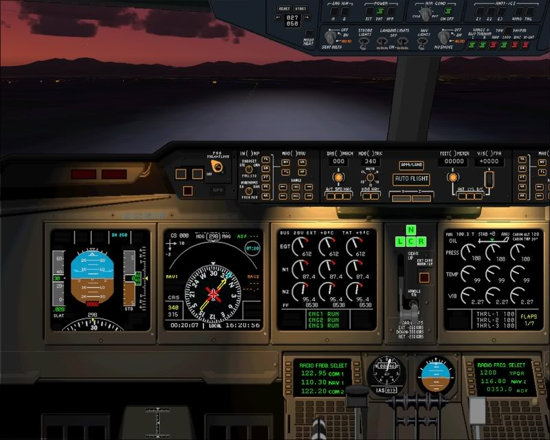 FS9 - Decolagem em Hakodate ....do MD-11 Coca Cola -2008-dec-31-083