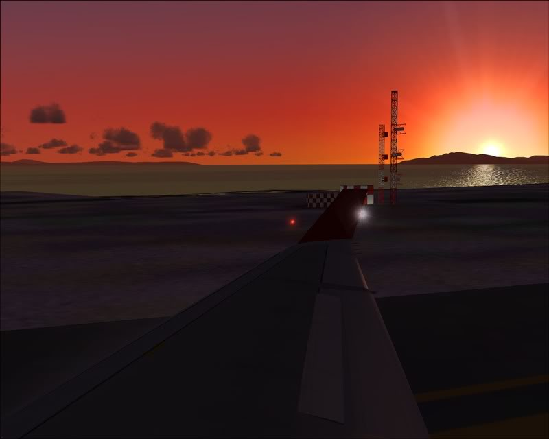 FS9 - Decolagem em Hakodate ....do MD-11 Coca Cola -2008-dec-31-099