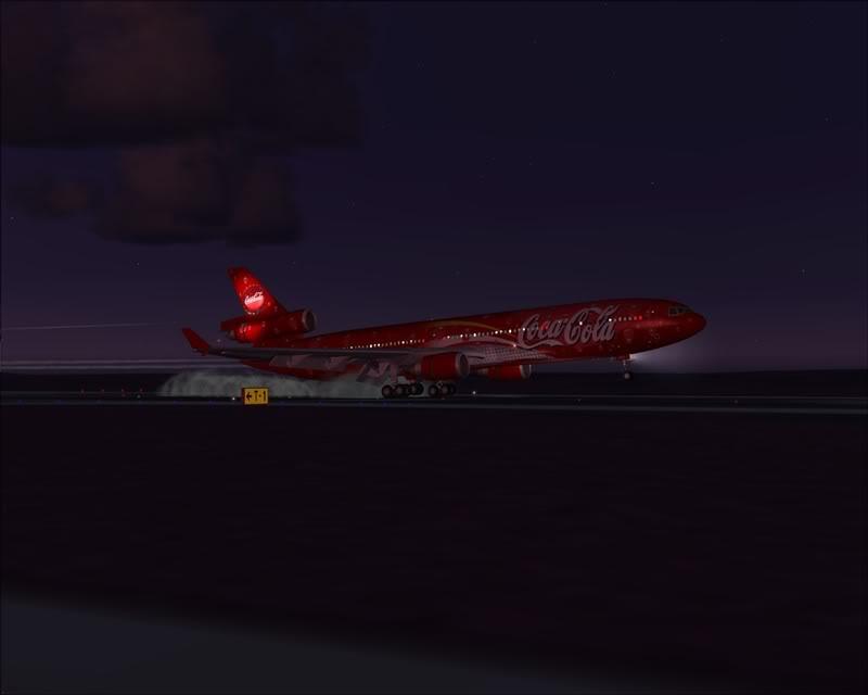 FS9 - Pouso em OBIHIRO.... muita borracha voando, lindo aeroporto -2008-dec-31-133