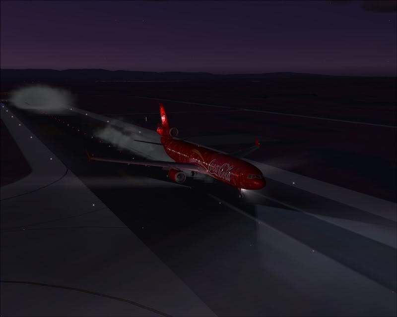 FS9 - Pouso em OBIHIRO.... muita borracha voando, lindo aeroporto -2008-dec-31-135