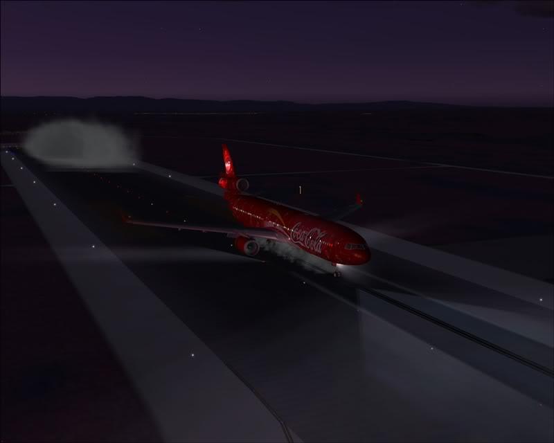 FS9 - Pouso em OBIHIRO.... muita borracha voando, lindo aeroporto -2008-dec-31-137