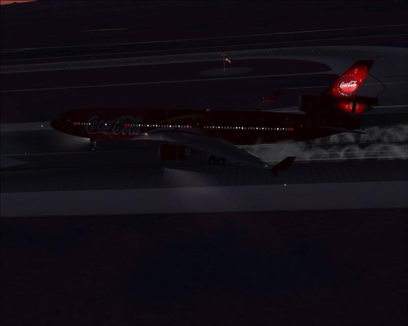 FS9 - Pouso em OBIHIRO.... muita borracha voando, lindo aeroporto -2008-dec-31-150