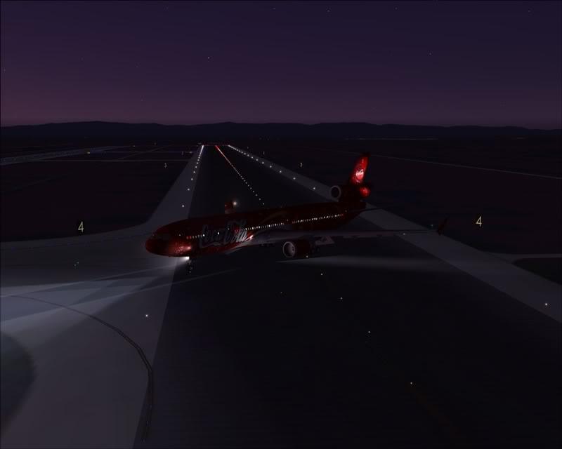 FS9 - Pouso em OBIHIRO.... muita borracha voando, lindo aeroporto -2008-dec-31-161