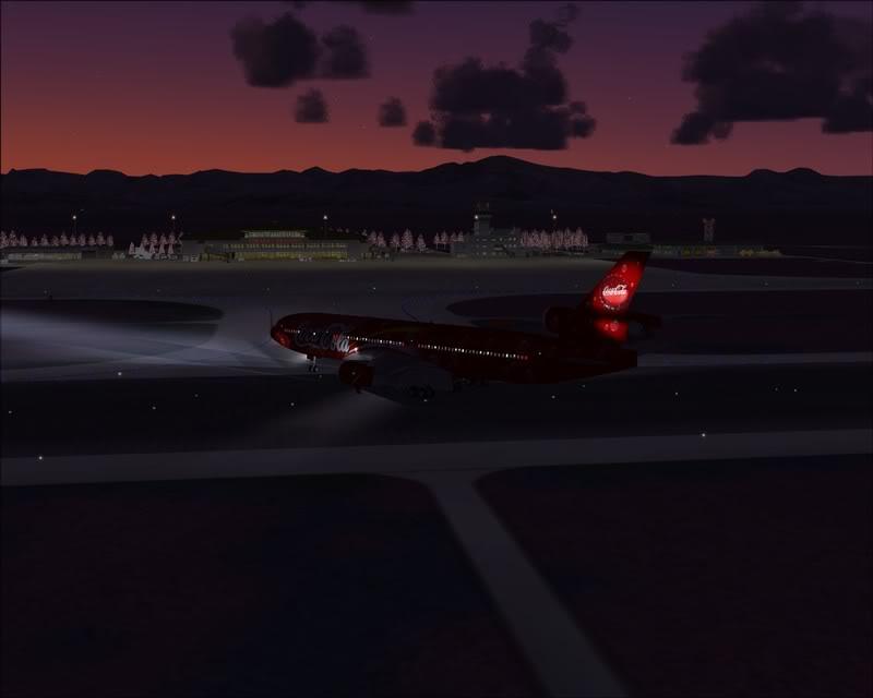 FS9 - Pouso em OBIHIRO.... muita borracha voando, lindo aeroporto -2008-dec-31-162