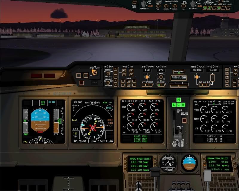 FS9 - Pouso em OBIHIRO.... muita borracha voando, lindo aeroporto -2008-dec-31-163