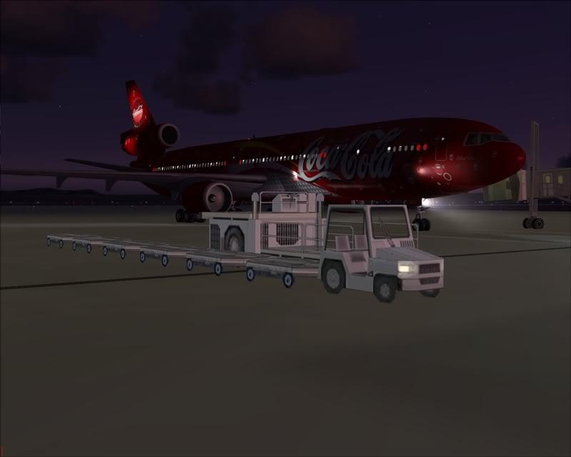 FS9 - Pouso em OBIHIRO.... muita borracha voando, lindo aeroporto -2008-dec-31-165
