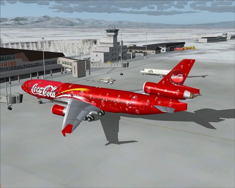 FS9 - Pouso em OBIHIRO.... muita borracha voando, lindo aeroporto -2008-dec-31-168