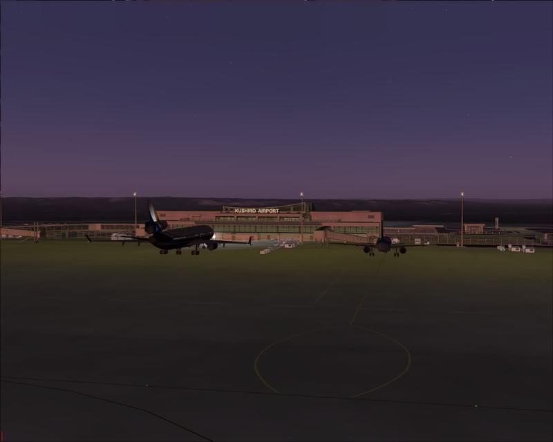 FS9 - KUSHIRO - WAKKANAI de MD-11 PMDG, 1º Voo com e muitos testes... mas foi bom adorei.... -2009-feb-22-014