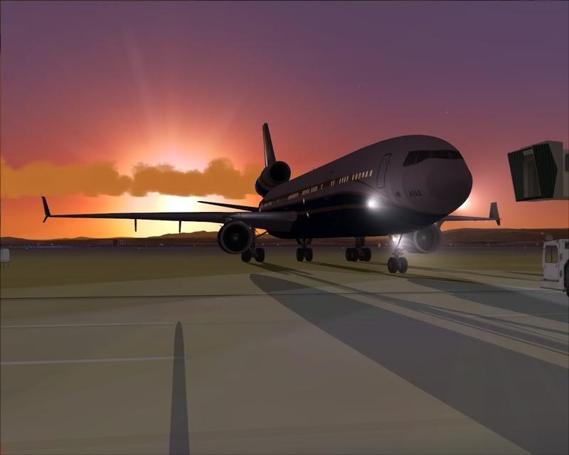 FS9 - Voando para Wakkanai....de MD-11 PMDG -2009-feb-22-016