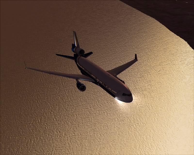 FS9 - Voando para Wakkanai....de MD-11 PMDG -2009-feb-22-033