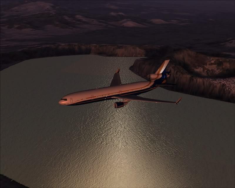 FS9 - Voando para Wakkanai....de MD-11 PMDG -2009-feb-22-035