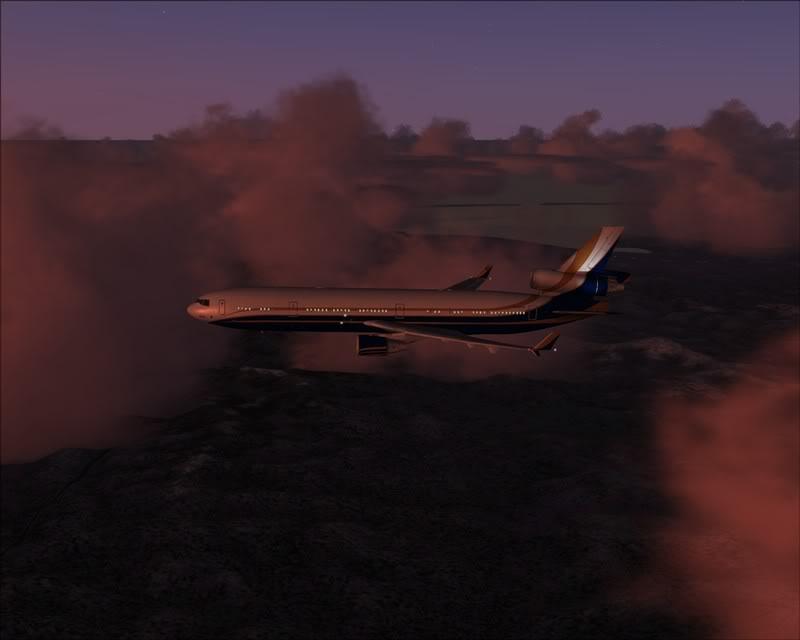 FS9 - Voando para Wakkanai....de MD-11 PMDG -2009-feb-22-038