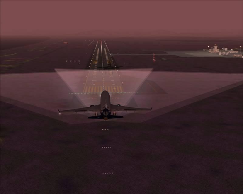 FS9 - Aproximação para Wakkanai.. sequencia ..,varias imagens da sequencia do pouso -2009-feb-23-083