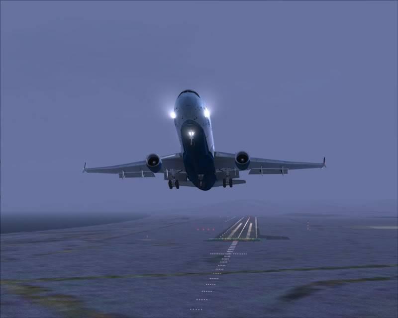 FS9 - Decolagem final Wakkanai...deu tudo certo,vamos rumo a Sapporo agora em voo -2009-mar-20-029
