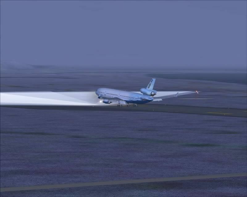 FS9 - Decolagem final Wakkanai...deu tudo certo,vamos rumo a Sapporo agora em voo -2009-mar-20-031