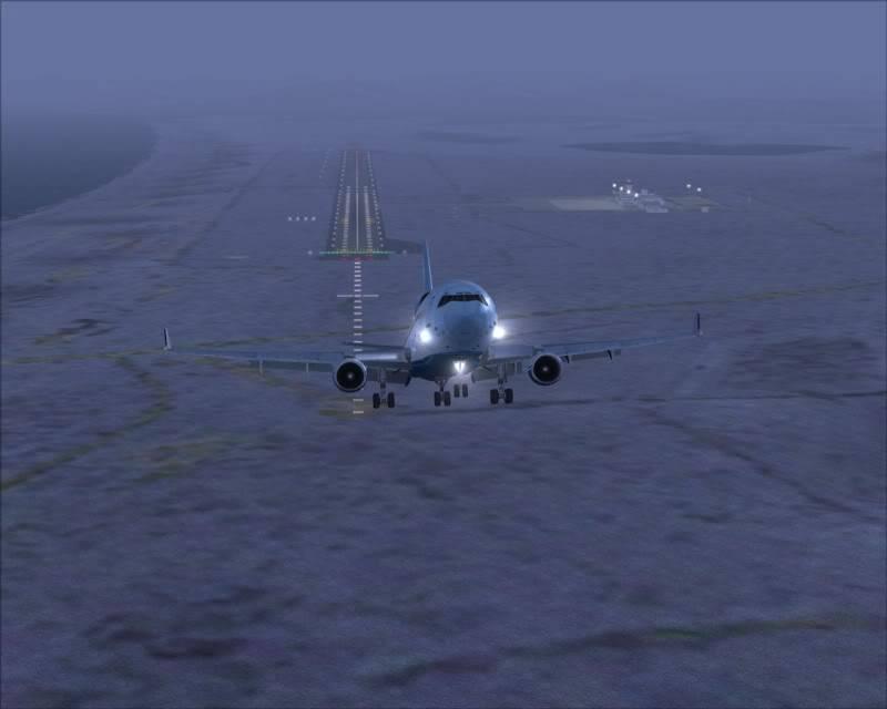 FS9 - Decolagem final Wakkanai...deu tudo certo,vamos rumo a Sapporo agora em voo -2009-mar-20-033