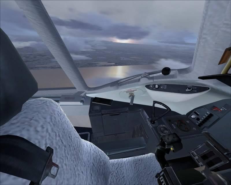 FS9 - Decolagem final Wakkanai...deu tudo certo,vamos rumo a Sapporo agora em voo -2009-mar-20-038