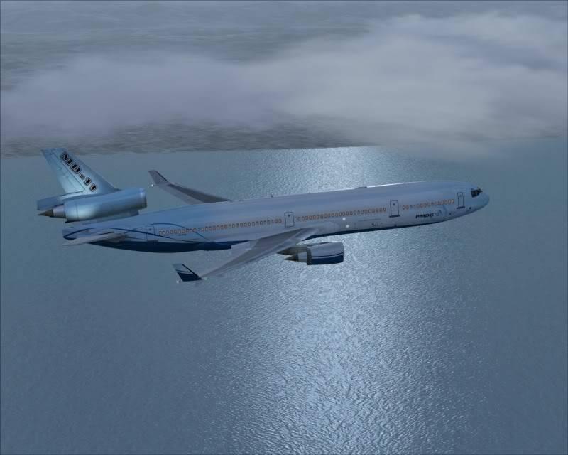 FS9 - Decolagem final Wakkanai...deu tudo certo,vamos rumo a Sapporo agora em voo -2009-mar-20-041